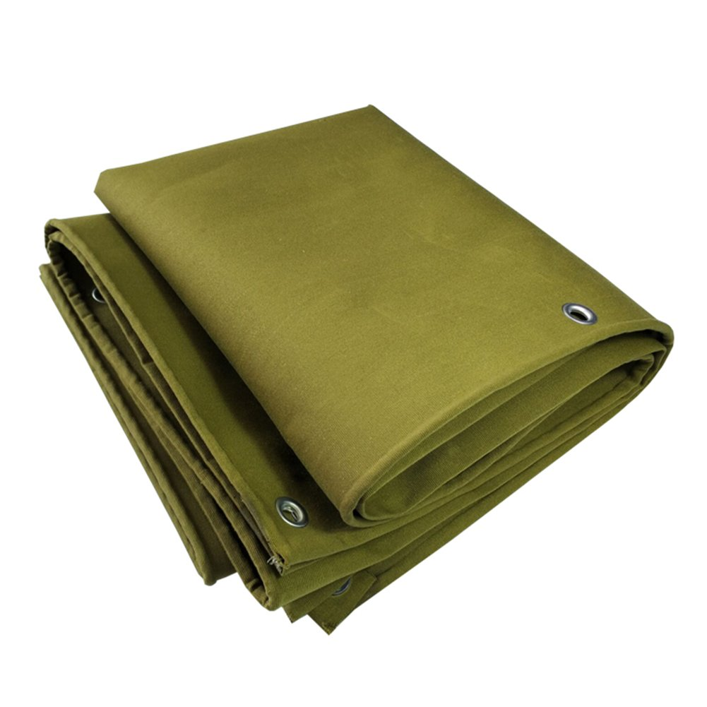 ZEMIN オーニング サンシェード ターポリン 防水 日焼け止め テント シート 防風 ルーフ コンパクト ポリエステル、 緑、 500G / 8サイズあり (色 : Green, サイズ さいず : 5X8M) 5X8M Green B07D4FF9MT