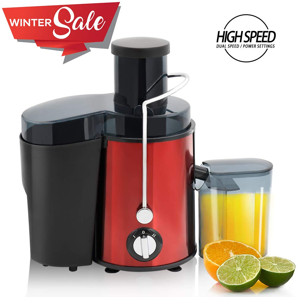 BuySevenSide Best Slow juicer Extractor - High speed for hard fruits and vegetables with Dual speed settings, ensures the Yield of maximum fresh juice