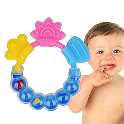 849e1ac67ba2d Buy Xibei Silicone Bite Food Grade Infant BPA-free Teething Toy (Assorted)  Online at Low Prices in India - Amazon.in