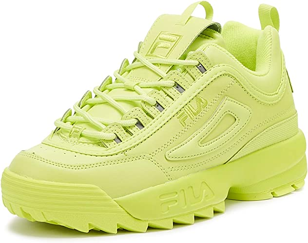 chaussures fila femme verte