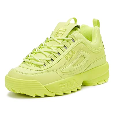 Fila Disruptor II Premium Womens Sharp Green Sneakers