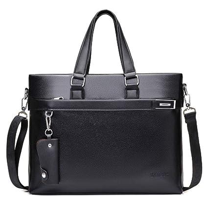 42cc691009bc Amazon.com: cjc Men's Tote Bag Leather Men's Business Briefcase ...