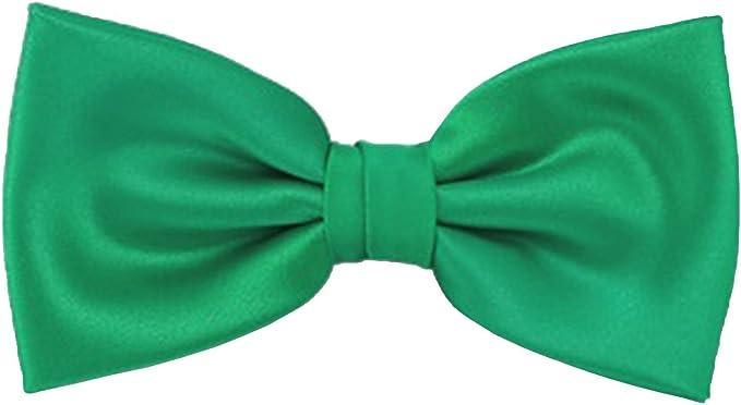 Frederic Thomass Pajarita corbata de moño verde básico de ...
