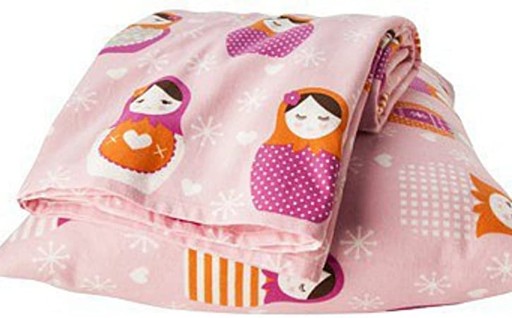 Circo Pink Nesting Egg Sheet Set Full Size Flannel Bed Sheets Doll Bedding Amazon Co Uk Kitchen Home