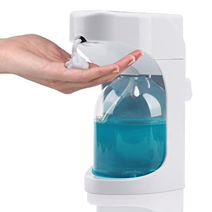 Signstek – Dispensador automático de espuma de jabón manos libres 500 ml Touchless Hand Sanitizer dispensador