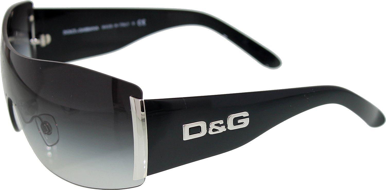 54a4e67552b DOLCE GABBANA SUNGLASSES D G 8039 BLACK SILVER 501 8G  Dolce   Gabbana   Amazon.co.uk  Clothing