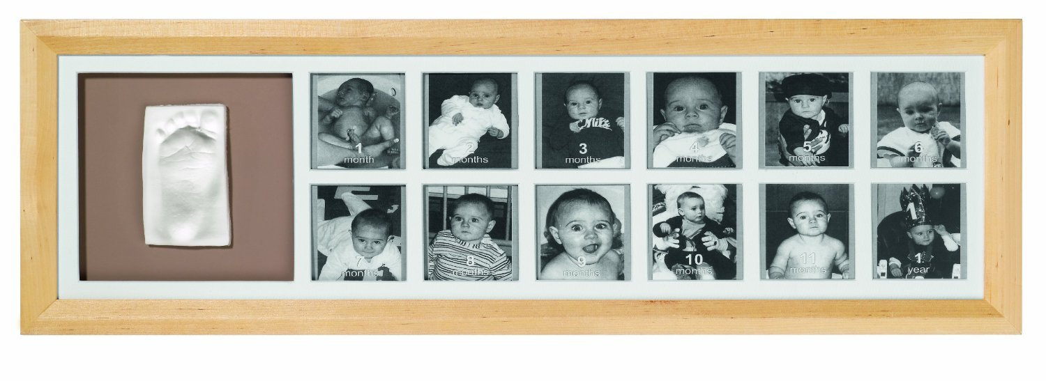 Baby Art First Year Print Frame Classic (Natural): Amazon.co.uk: Baby