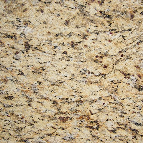 "Instant Granite Venetian Gold/Santa Cecilia Counter Top Film 36'' x 216"" Self Adhesive Vinyl Laminate Counter Top Contact Paper Faux Peel and Stick Self Application by Instant Granite"