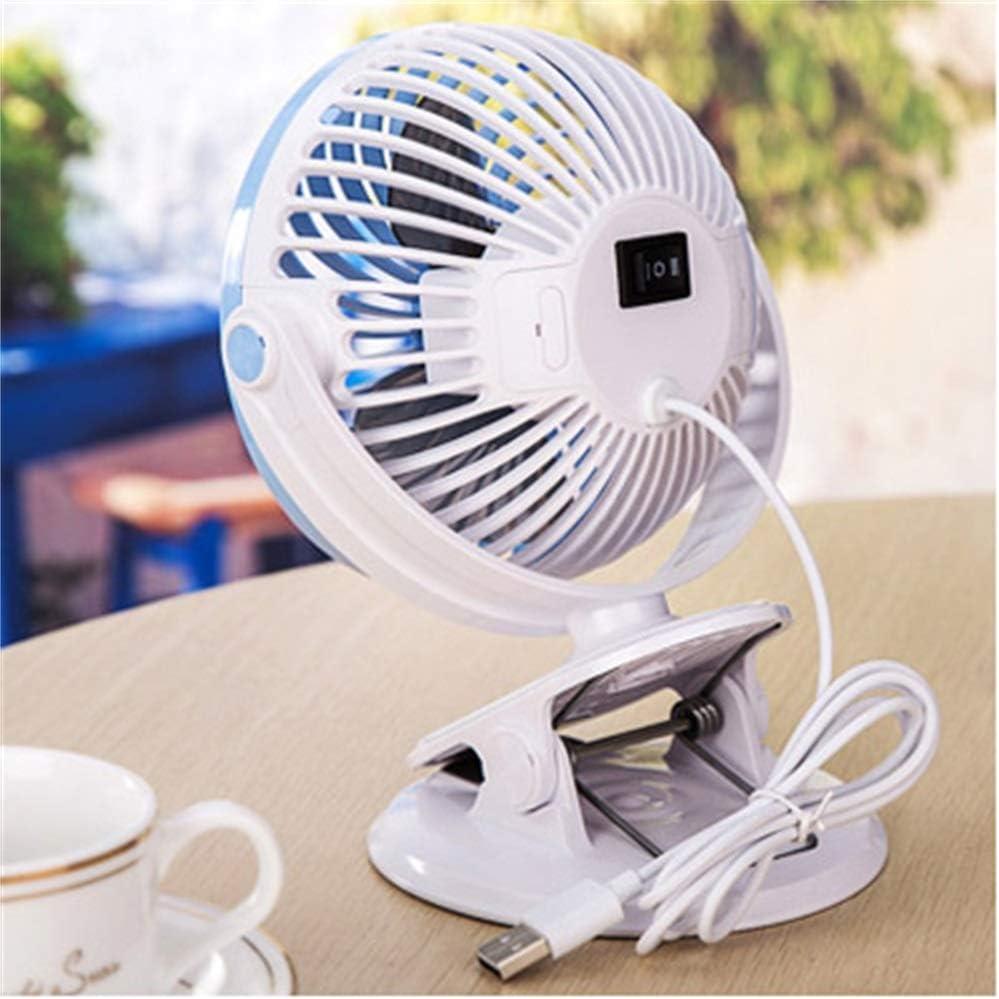 Small Fan Mini Bed Desktop Mute Portable Rechargeable Fan Student Dormitory Bedside Clip Office