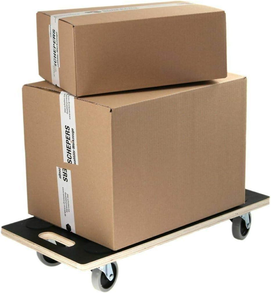 4St/ück Rollbrett Siebdruck TPR Rollen Transportroller M/öbelroller 200 kg