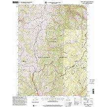 Monte Cristo Peak UT topo map, 1:24000 scale, 7.5 X 7.5 Minute, Historical, 1998, updated 2001, 26.7 x 21.8 IN