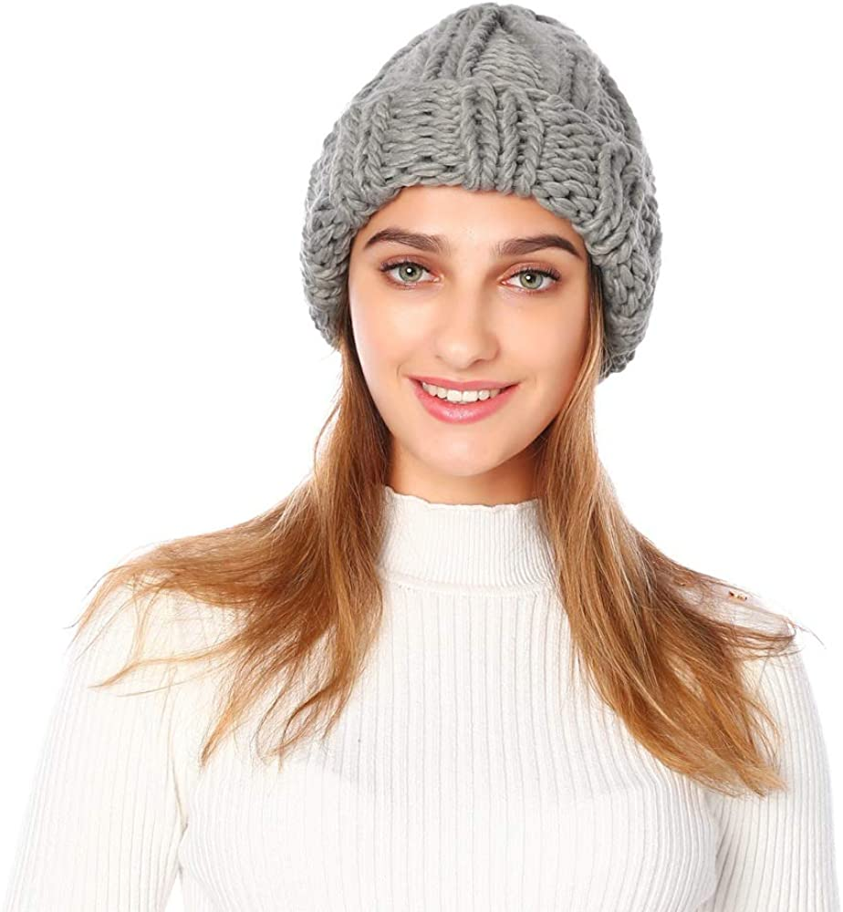 Winter Warm Women's Knitted...
