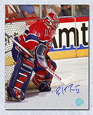 Autograph Authentic ROYP10504A Patrick Roy Montreal Canadiens Signed Stanley Cup Finals Action 11 x 14 in. Photo