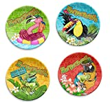 Margaritaville Appetizer Plates Set Of 4