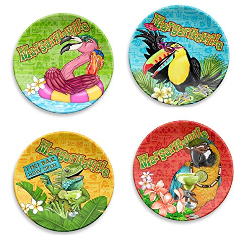 Margaritaville Appetizer Plates Set Of 4 by Margaritaville