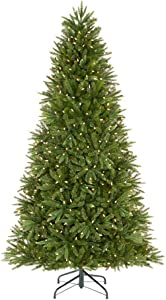 Home Accents Holiday 7.5 ft Genoa Douglas Fir LED Pre-Lit Artificial Christmas Tree with 540 Color Changing Lights and 116 Functions