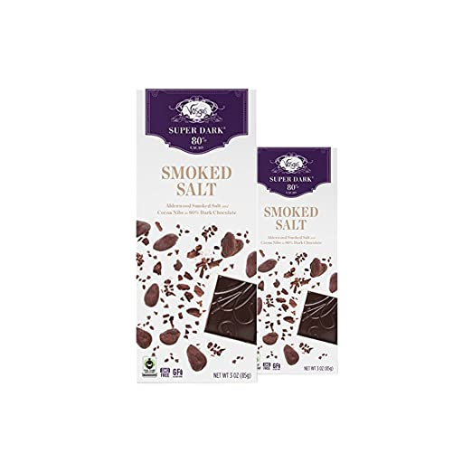 Amazon.com : Vosges Haut-Chocolat Smoked Salt Chocolate, Pack of 2, 3oz Bars : Grocery & Gourmet Food
