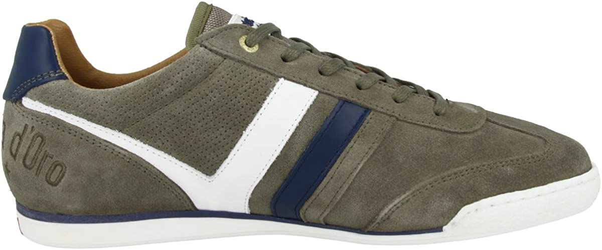 Pantofola d\'Oro Vasto Suede Uomo Low, Sneakers Basses Homme Vert Olive 52a