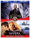 MOVIE/FILM-BD 2 PACK JESTEM LEGENDA/WYSPA (2 BD)