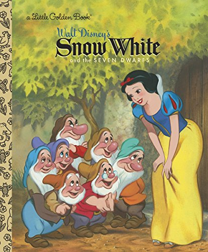 Now new and old fans can relive the magic of Walt Disney's classic Snow White and the Seven Dwarfs as it is retold in a beautiful full-color Little Golden Book!