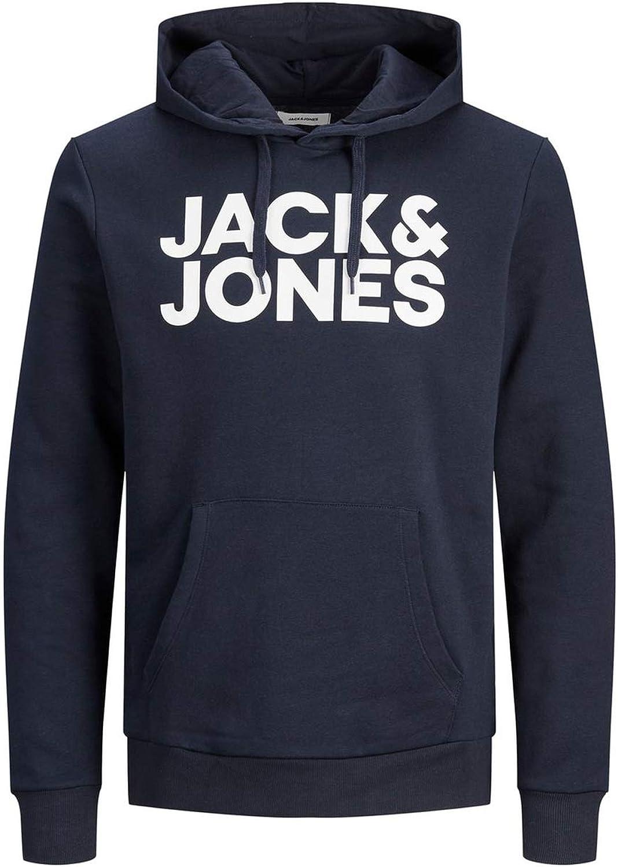 JACK /& JONES Herren Hoodie Logo