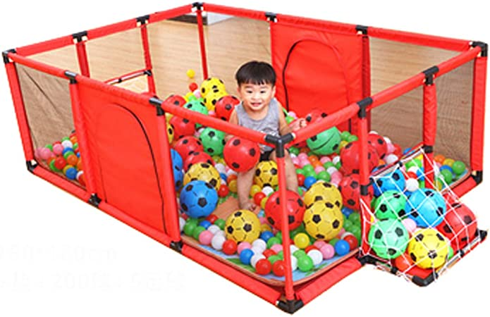Parque Infantil Cerca para bebés Centro de Actividades para niños Juego de Seguridad Alfombra de jardín para niños Espuma Suave Juguetes Resistentes a roturas en el hogar Patio de Juegos Interior: Amazon.es: