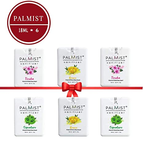 Buy Palmist Pocket Hand Sanitizer Spray Combo Of 6 Piece Tizuka