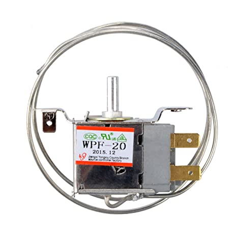 AC 220V-250V 6A 60HZ 2 Pin Freezer Refrigerator Thermostat WPF-20