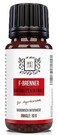 Abnehmen Globuli   Radionisch informiert   F-Brenner   Für Stoffwechselkur & Diät (Kein HCG C30)   100% natürlich   8 Sin Nut