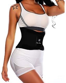 96b53c7f71b MISS MOLY Women Waist Trainer Slimming Belt Cincher Workout Sweat Training  Girdle Body…