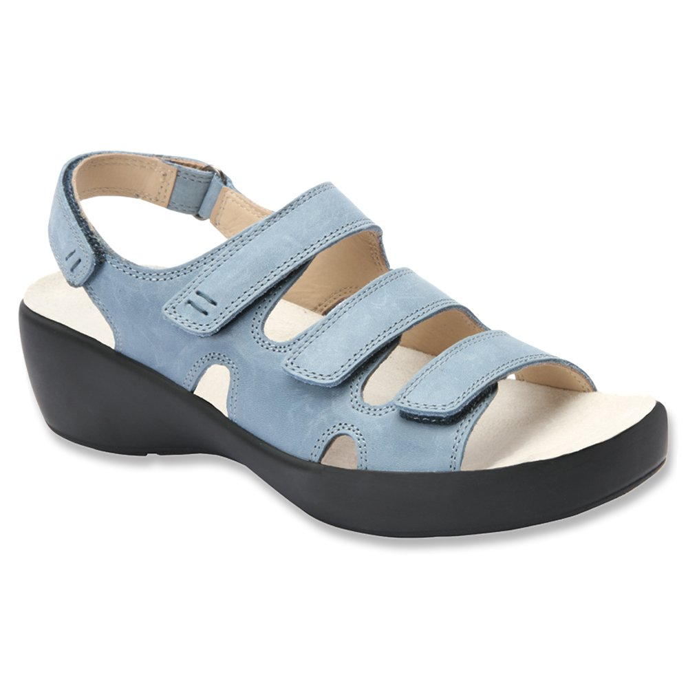 Drew Women's Alma Sandals B00UTYON9G 11 C/D US|Slate Blue Leather