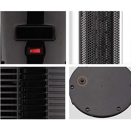 Fei eléctrico Radiador termoventilador 2 kW de cerámica torre Calefacción Inclinación sicherheitsabschaltung: Amazon.es: Hogar