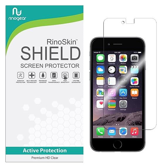 sports shoes 9ddf0 da469 RinoGear iPhone 6 / 6S Screen Protector Case Friendly Screen Protector for  iPhone 6 / 6S Accessory Full Coverage Clear Film