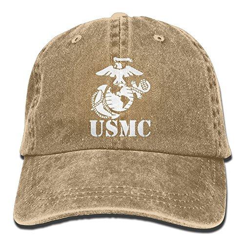 Eagle Globe Anchor USMC Marine Corps Dad Hat Adjustable Denim Hat Classic Baseball Cap - Marine Corps Baseball