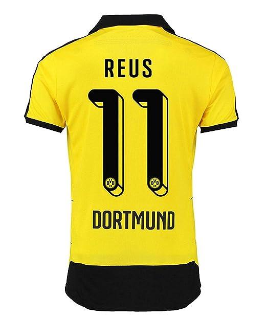 Puma Reus # 11 BVB Boussia Dortmund Hombres Home Jersey 2015-16 (L ...