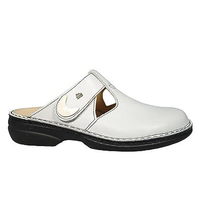 heißer verkauf authentisch toller Wert Premium-Auswahl Finn Comfort, 2555-001000, Belem Clog Damen, Größe 43, Weiß ...