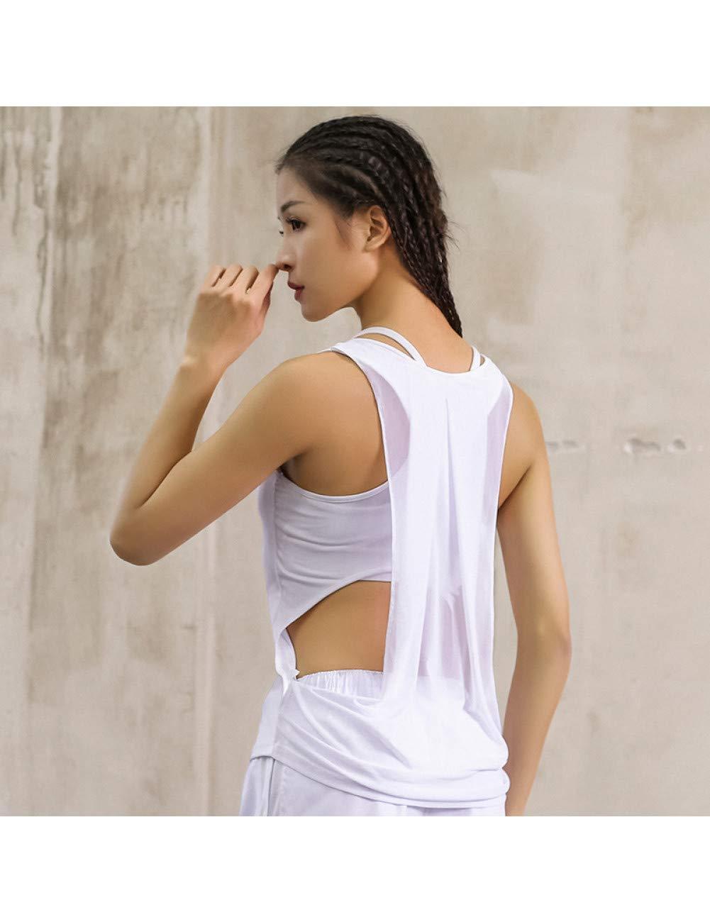 XCWYZ Sport BH Frauen Gym Sport T-Shirt Yoga Workout Weste Fitness Training Übung Laufbekleidung Sportbekleidung T Tops Kleidung