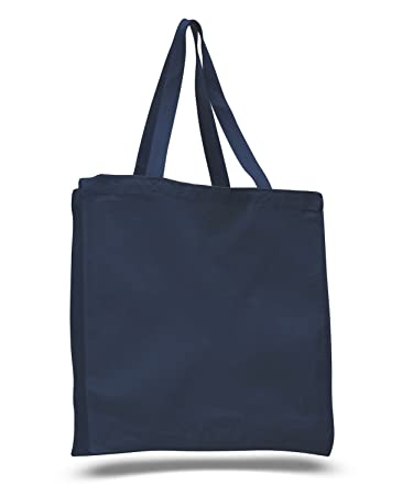 Amazon.com: (12 Pack) 1 Dozen- Wholesale Heavy Canvas Tote Bags ...