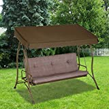 Garden Winds 3-Person Hammock Swing Replacement Canopy Top Cover