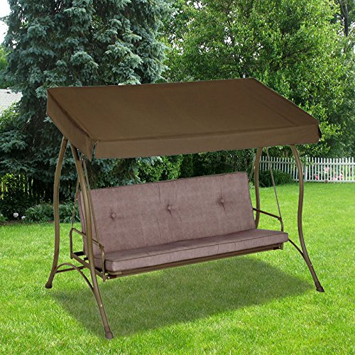 Garden Winds 3-Person Hammock Swing Replacement Canopy Top Cover by Garden Winds