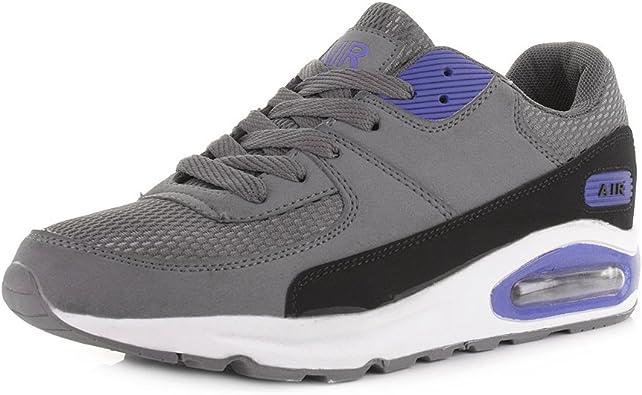 Shoestore Air Zapatillas de estilo cuero, con cámara de aire y ...