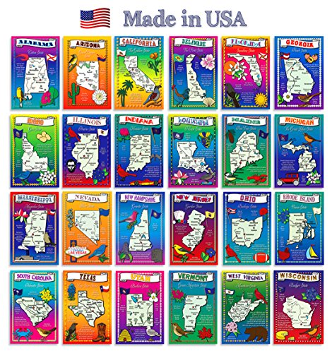 Postcard variety Illustrated postcards America