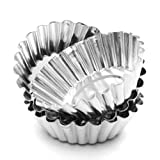 Wewin Set of 10 Nonstick Ripple Aluminum Alloy