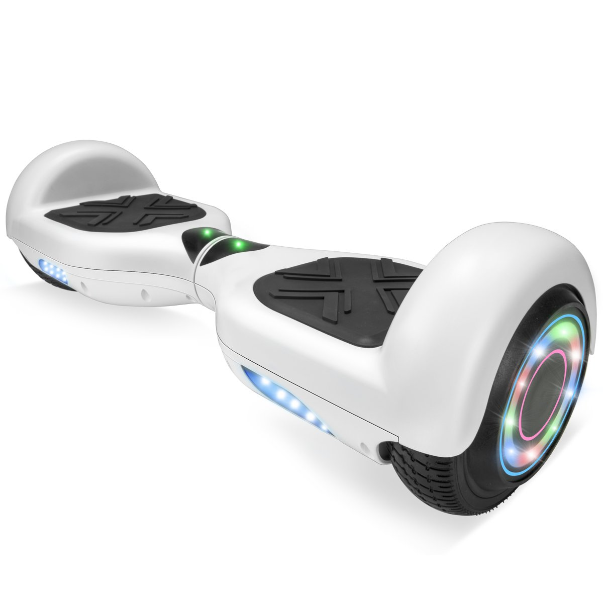XtremepowerUS 6.5'' Self Balancing Hoverboard Scooter w/ Bluetooth Speaker (Matte White) by XtremepowerUS