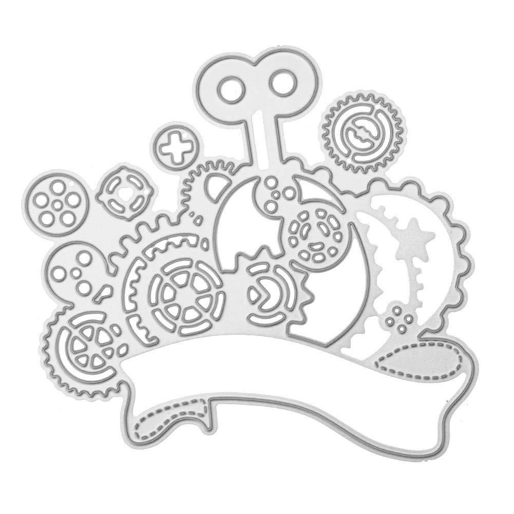 JiaMeng Troqueles Scrapbooking Troqueles para š¢lbumes de Recortes Plantillas de moldes de Corte de Metales del Corazš®n de la Flor Decoraciš®n para el ...