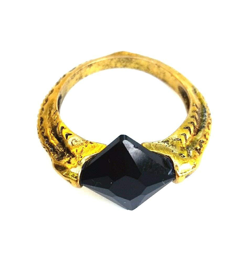 MAIWEIXI Harry Potter horcrux ring vintage Western movie Lord Of The Rings Color Bronze
