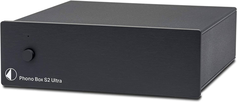 Pro-Ject Phono Box S2 Ultra Phono Preamplifier Black