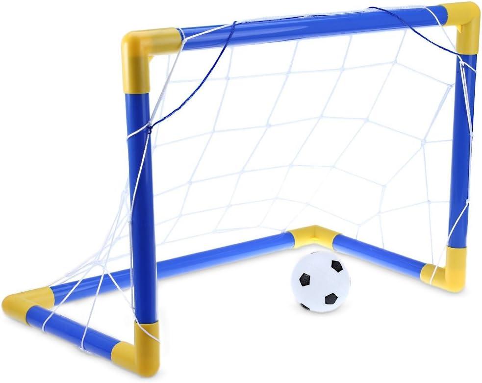 Balón de fútbol Mini Fútbol portería de juego con bomba interior ...