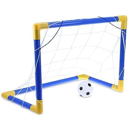 Balón de fútbol Mini Fútbol portería de juego con bomba ...
