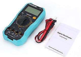 Multimetro Digitale Vici DC/AC Misuratore di Tensione Corrente Palmare Amperometro Ohm Diode Tester 1999 Conteggi Multitester - Blu e Grigio